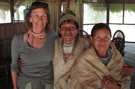 Donna Runnalls and traditional healers, 2007