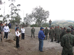 Ecuadorian army helps in reforestation efforts